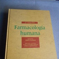 Libros de segunda mano: FARMACOLOGIA HUMANA. Lote 98866759