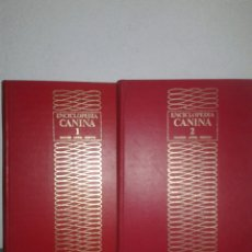 Libros de segunda mano: ENCICLOPEDIA CANINA NOGUER ANESA RIZZOLI DOS TOMOS. Lote 99668952