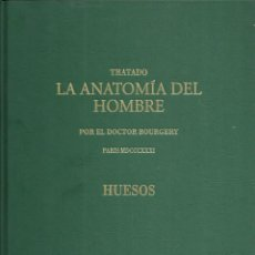 Libros de segunda mano: LA ANATOMÍA DEL HOMBRE.HUESOS.ERGON CREACIÓN.2004.. Lote 99959947