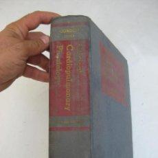Libros de segunda mano: LIBRO ANTIGUO MEDICINA CARDIOPULMONARY PHYSIOLOGY 1960 AMERICAN COLLEGE. Lote 100307815