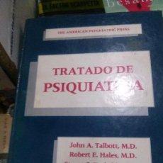 Libros de segunda mano: TRATADO DE PSIQUIATRA JHON A.TALBOTT,M.D. EDT ANCORA SA. Lote 100502527