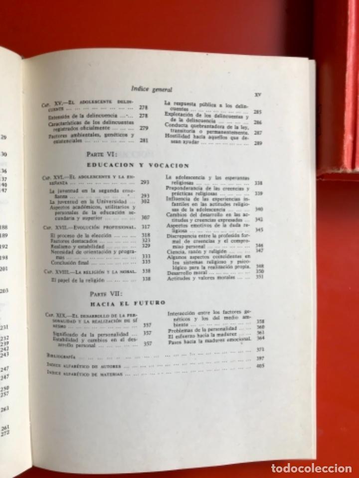 Libros de segunda mano: Psicología fisiológica clifford morgan 1973 psicología de la adolescencia jersild 1972 1 edición - Foto 9 - 100718819
