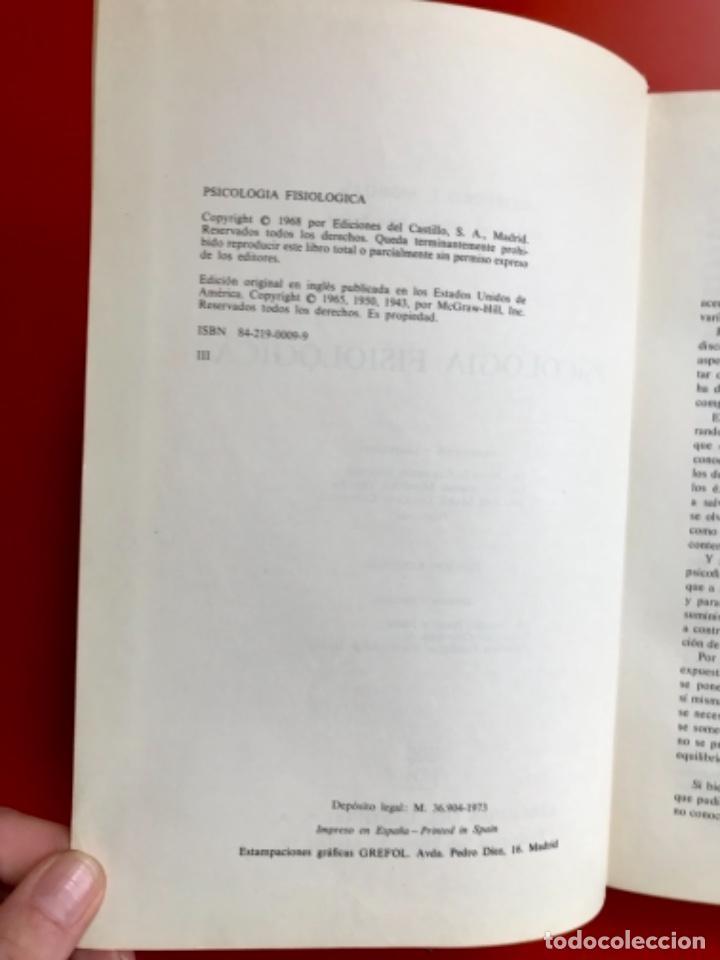 Libros de segunda mano: Psicología fisiológica clifford morgan 1973 psicología de la adolescencia jersild 1972 1 edición - Foto 22 - 100718819