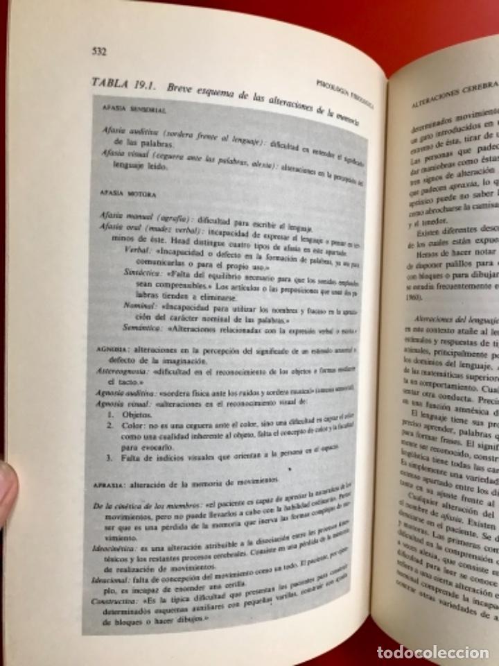Libros de segunda mano: Psicología fisiológica clifford morgan 1973 psicología de la adolescencia jersild 1972 1 edición - Foto 33 - 100718819