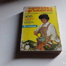 Libros de segunda mano: DOCTOR VANDER.....REGIMENES AGRADABLES..PARA SANOS Y ENFERMOS....EDICION 1963..... Lote 103483980