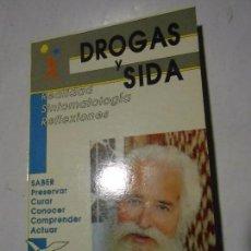 Libros de segunda mano: DROGAS Y SIDA / REALIDAD SINTOMATOLOGÍA REFLEXIONES - LUCIEN J. ENGELMAJER - LE PATRE. Lote 101119647