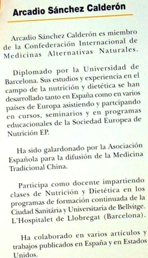 Libros de segunda mano: ADELGAZAR COMIENDO BIEN - DIETAS: INTERFERENCIAL / ROC / 4D - A. SÁNCHEZ CALDERÓN - VER INDICE - Foto 3 - 210835692