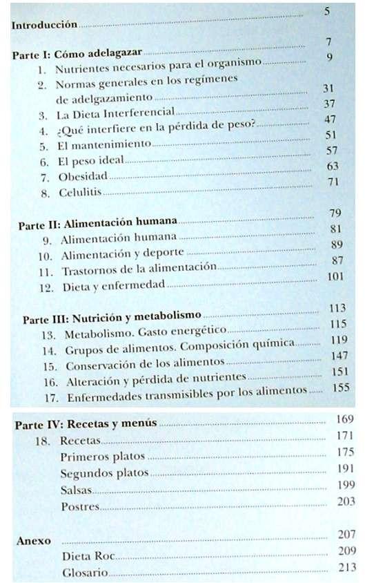 Libros de segunda mano: ADELGAZAR COMIENDO BIEN - DIETAS: INTERFERENCIAL / ROC / 4D - A. SÁNCHEZ CALDERÓN - VER INDICE - Foto 4 - 210835692