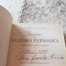 Libros de segunda mano: ANATOMÍA PATOLÓGICA TERCERA EDICIÓN 1942. Lote 103043500