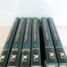 Libros de segunda mano: 6 TOMOS ENCICLOPEDIA HISTORIA UNIVERSAL MEDICINA PEDRO LAIN ENTRALGO SALVAT. Lote 103192155