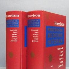 Libros de segunda mano: PRINCIPIOS DE MEDICINA INTERNA. HARRISON. 15 EDICION. 2 TOMOS. Lote 103989551