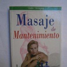 Gebrauchte Bücher - LIBROS SALUD BIENESTAR - MASAJE DE MANTENIMIENTO ANA FALK AÑO 2000 - 104101019