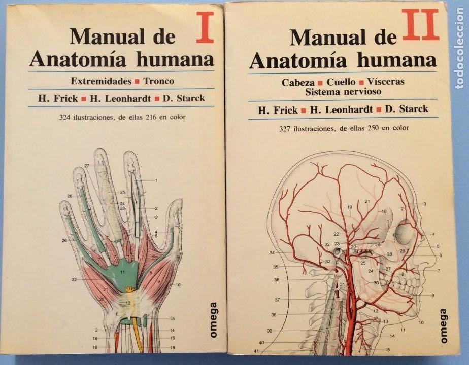 manual de anatomía humana - 2 vols. - frick, le - Comprar Libros de ...