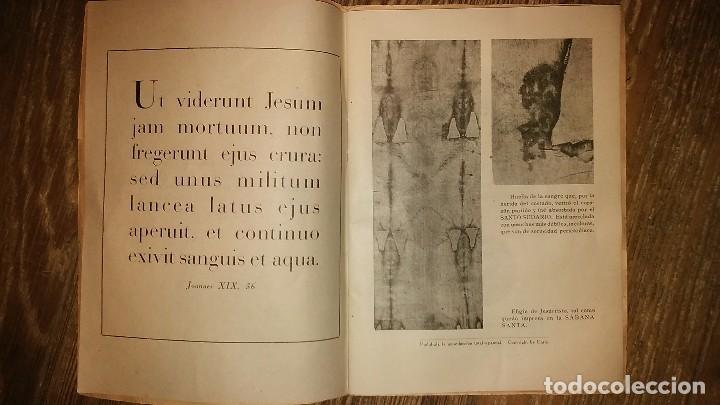 Libros de segunda mano: LA HERIDA DEL CORAZON DE JESUS . Comentario Medico - Legal sobre el Santo Sudario - Año 1950 - Foto 3 - 105060111