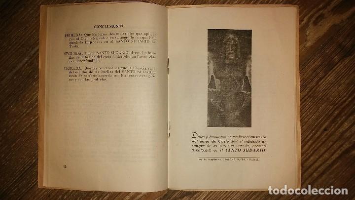 Libros de segunda mano: LA HERIDA DEL CORAZON DE JESUS . Comentario Medico - Legal sobre el Santo Sudario - Año 1950 - Foto 7 - 105060111