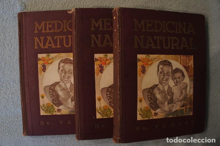 MEDICINA NATURAL MODERNA CIENCIA DEL CURAR. DOCTOR VANDER (Libros de Segunda Mano - Ciencias, Manuales y Oficios - Medicina, Farmacia y Salud)