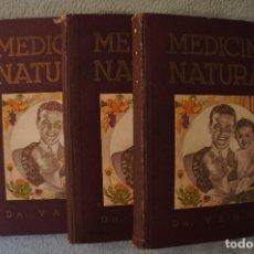 Libros de segunda mano: MEDICINA NATURAL MODERNA CIENCIA DEL CURAR. DOCTOR VANDER. Lote 105209467