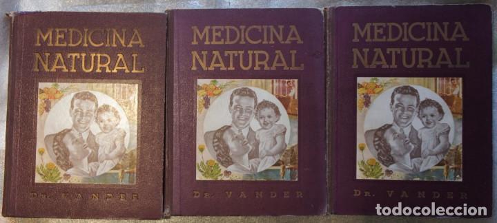 Libros de segunda mano: Medicina Natural Moderna Ciencia del Curar. Doctor Vander - Foto 2 - 105209467
