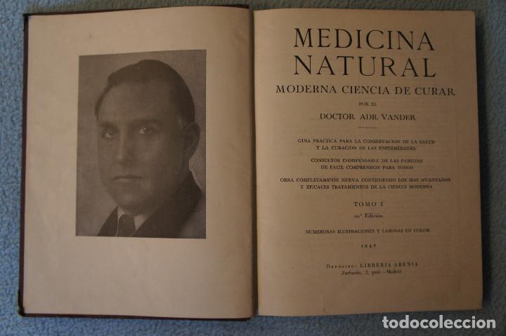 Libros de segunda mano: Medicina Natural Moderna Ciencia del Curar. Doctor Vander - Foto 6 - 105209467