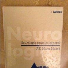 Libros de segunda mano: NEUROLOGIA PRACTICA GENERAL (J. F. MARTI MASSO) SANDOZ. Lote 159375664