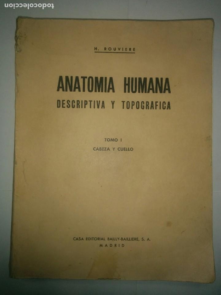 anatomía humana descriptiva y topográfica tomo - Comprar Libros de ...