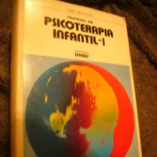 Libros de segunda mano: GERD BIERMANN: - TRATADO DE PSICOTERAPIA INFANTIL - (TOMO I).(BARCELONA, 1973). Lote 105985059