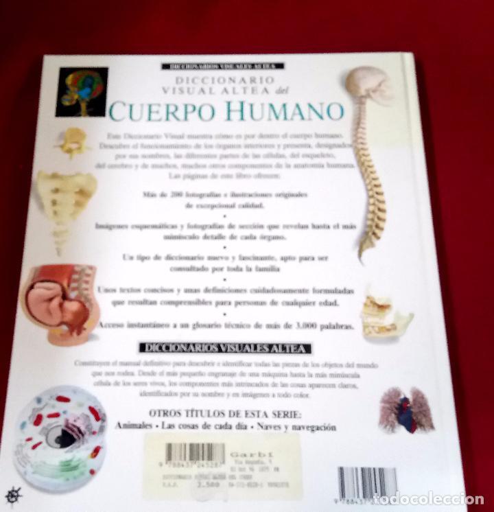 diccionario visual altea del cuerpo humano - Comprar Libros de ...