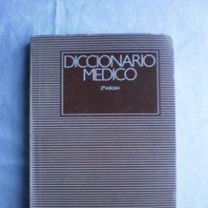 Libros de segunda mano: DICCIONARIO MEDICO. TOMO II I-Z. Lote 107249155