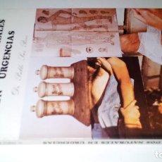 Libros de segunda mano: CUIDADOS NATURALES EN URGENCIAS-PABLO SAZ PEIRO-ZARAGOZA-1984. Lote 107514607
