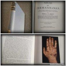 Libros de segunda mano: ATLAS DE DERMATOLOGÍA SEMON (1955) - PRIMERA EDICIÓN ESPAÑOLA, CON 147 LÁMINAS A COLOR. Lote 108826599