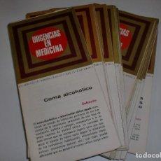 Libros de segunda mano: RARÍSIMA COLECCIÓN DE LOS LABORATORIOS WARNER-CHILCOTT COMPLETA - URGENCIAS EN MEDICINA. Lote 109047327