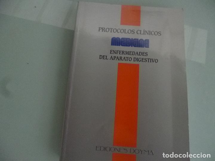 PROTOCOLOS CLINICOS - ENFERMEDADES DEL PARATO DIGESTIVO - ED. DOYMA (Libros de Segunda Mano - Ciencias, Manuales y Oficios - Medicina, Farmacia y Salud)