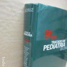 Libros de segunda mano: TRATADO DE PEDIATRIA - MANUEL CRUZ HERNÁNDEZ - NOVENA EDICIÓN - ERGON. Lote 109542483