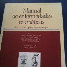 Libros de segunda mano: MANUAL DE ENFERMEDADES REUMATICAS,DE LA SOCIEDAD ESPAÑOLA DE REUMATOLOGIA. Lote 110458739