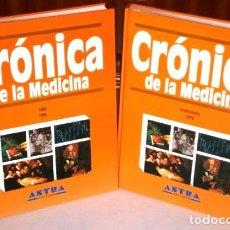 Libros de segunda mano: CRÓNICA DE LA MEDICINA 2T POR HEINZ SCHOTT Y OTROS DE ED. PLAZA JANÉS EN BARCELONA 1996. Lote 110778243