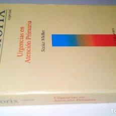 Libros de segunda mano: MEMORIX-ESPECIAL-URGENCIAS EN ATENCION PRIMARIA-SÖNKE MÜLLER-GRASS EDICIONES-1993. Lote 111056859