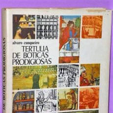 Libros de segunda mano: TERTULIA DE BOTICAS PRODIGIOSAS.. Lote 111428539
