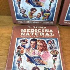 Libros de segunda mano: MEDICINA NATURAL - MODERNA CIENCIA DE CURAR - DR. VANDER - CONSULTORIO INDISPENSABLE DE LAS FAMILIAS. Lote 111436539
