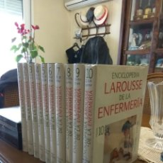 Libros de segunda mano: ENCICLOPEDIA LAROUSSE DE LA ENFERMERIA 10 VOLUM.. Lote 111502020
