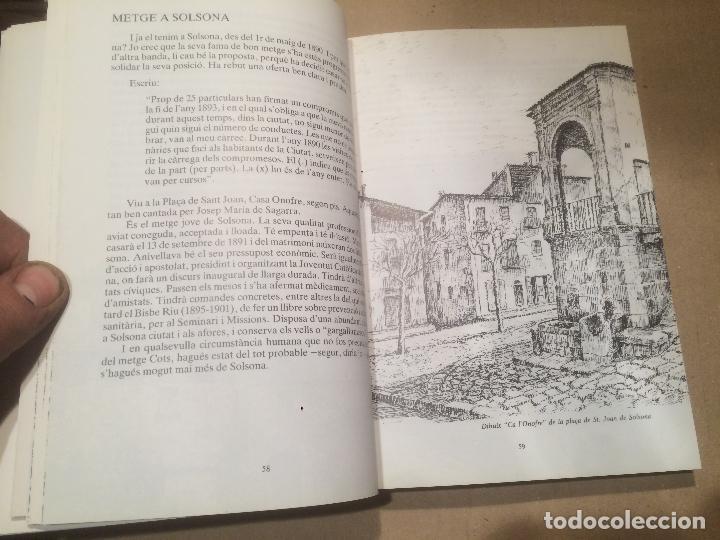 Libros de segunda mano: Antiguo libro el metge cots Ramon Cots Escrigas por Simeó Selga Ubach año 1989 - Foto 5 - 111928967