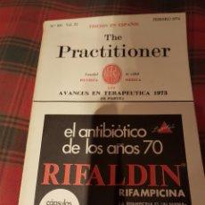 Libros de segunda mano: REVISTA MEDICA THE PRACTITIONER VERSIÓN ESPAÑOLA FEBRERO 1974. Lote 112163859