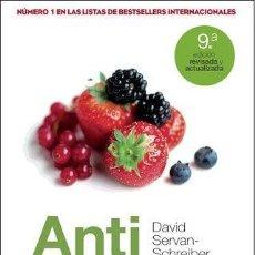 Libros de segunda mano - Anti Cáncer - Dr. David Servan-Schreiber - 112545647