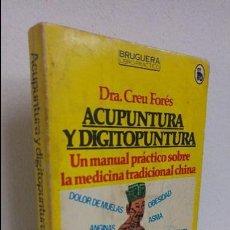 Libros de segunda mano: ACUPUNTURA Y DIGITOPUNTURA . Lote 112601055