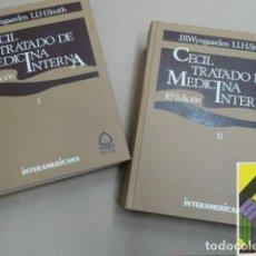 Libros de segunda mano: WYNGAARDEN, J.B./ SMITH, LLOYD H.: TRATADO DE MEDICINA INTERNA DE CECIL. 16ª EDICIÓN .... Lote 112605299