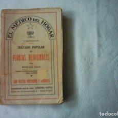 Libros de segunda mano: WIFREDO BOUÉ. TRATADO POPULAR DE PLANTAS MEDICINALES. 1938. 5ª EDICIÓN ILUSTRADA. Lote 112658515