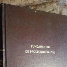 Libros de segunda mano: FUNDAMENTOS DE PROSTODONCIA FIJA. Lote 113070023