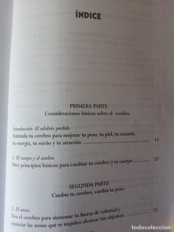 Libros de segunda mano: Dr. DANIEL G. AMEN - CAMBIA TU CEREBRO, CAMBIA TU CUERPO - SIRIO 2010 - Foto 3 - 114444795