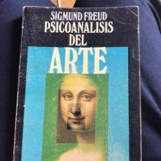 Libros de segunda mano: SIGMUND FREUD PSICOANÁLISIS DEL ARTE. Lote 115282458