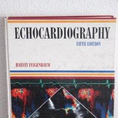 Libros de segunda mano: ECHOCARDIOGRAPHY-HARVEY FEIGENBAUM-LEA & FEBIGER-5ª EDICIÓN-1994-TAPA DURA. Lote 115367639