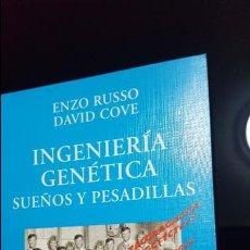Libros de segunda mano: ENZO RUSSO.DAVID COVE.INGENIERIA GENETICA, SUEÑOS Y PESADILLAS. Lote 115406219